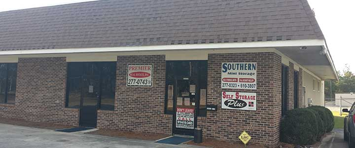 picture of our office building laurinburg